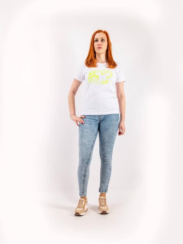 Dámske ručne potláčané tričko A156