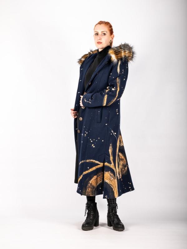 Kabát dlhý A113