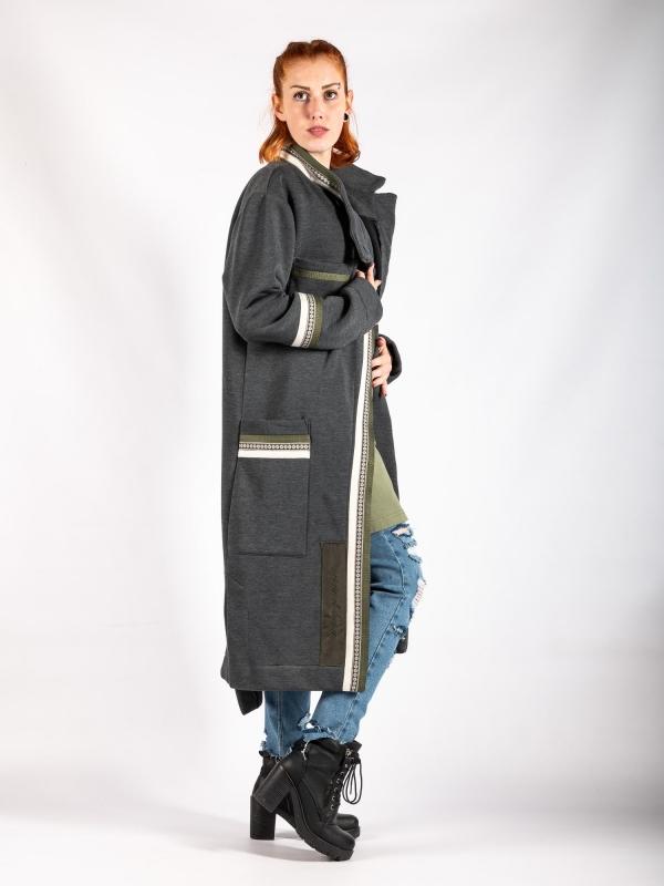 Kabát dlhý G018