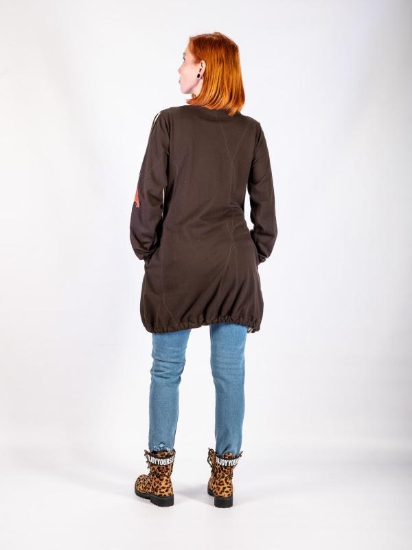 Mikinové šaty G033