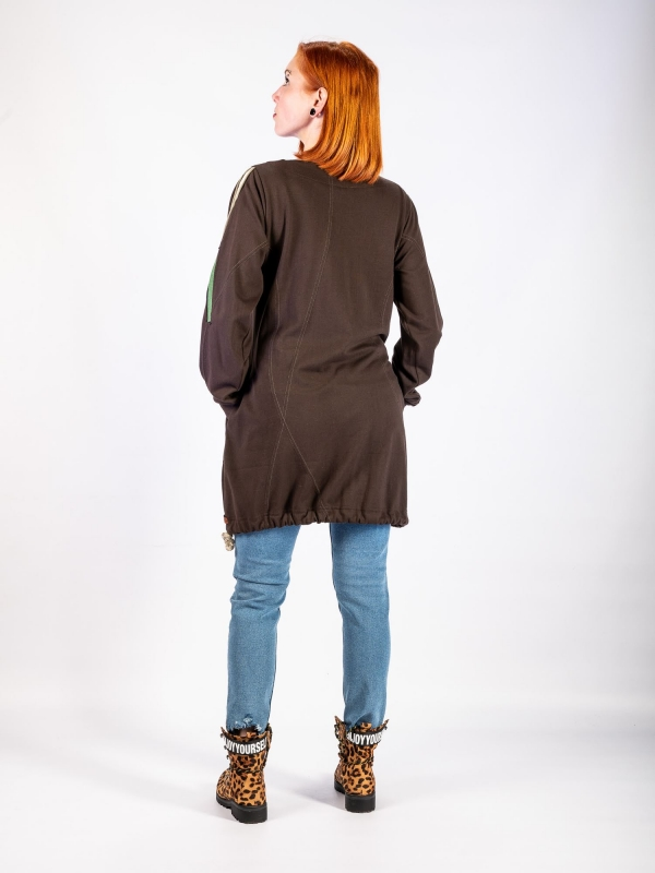 Mikinové šaty G034