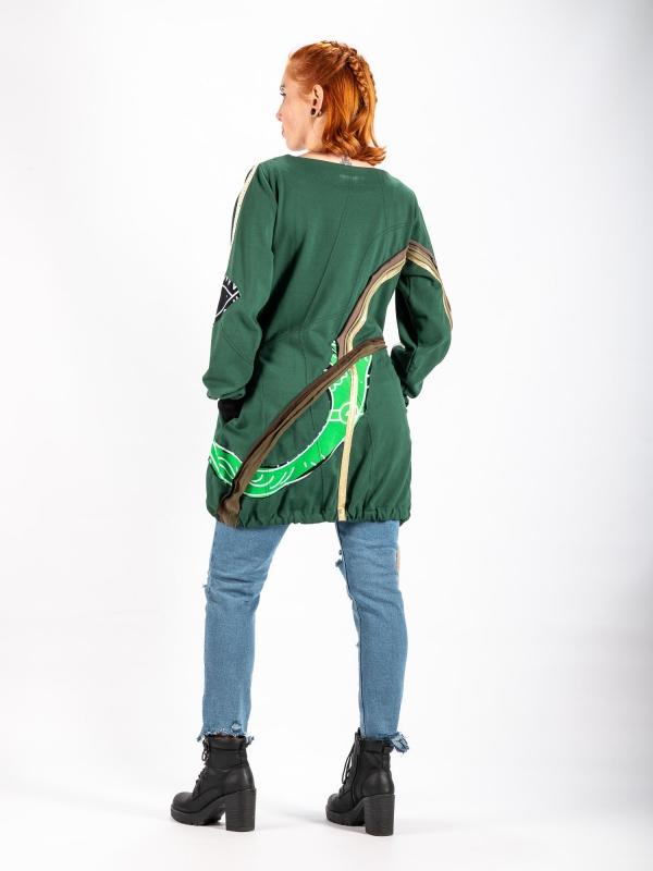 Mikinové šaty G038