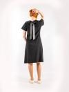 Dámske šaty čierne A145