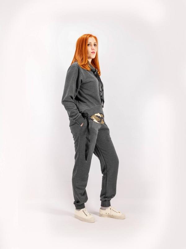 Mikina s kapucňou dámska S048