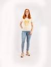 Dámske ručne potláčané tričko A157
