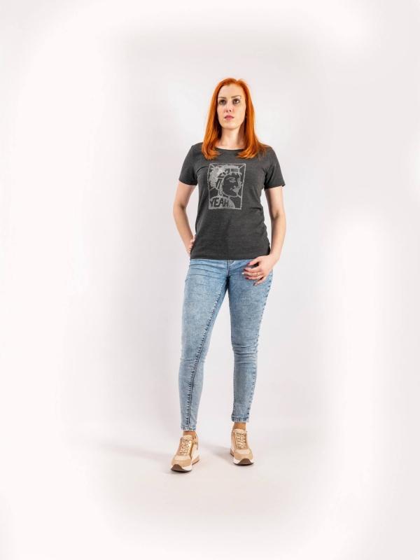 Dámske ručne potláčané tričko A160