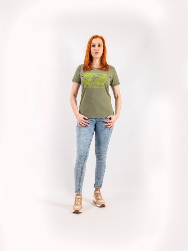 Dámske ručne potláčané tričko A161